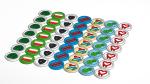 7x7 Grid of Badges