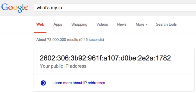 I'm on IPv6, are you?